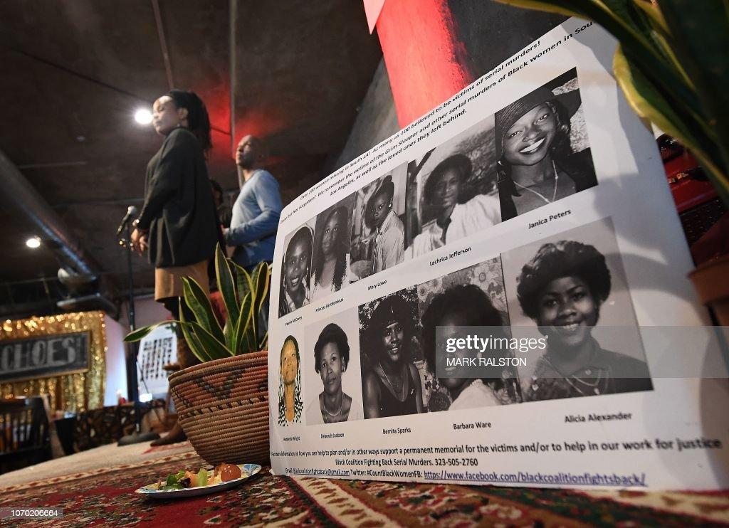 US-CRIME-MEMORIAL-SERIAL-KILLERS-VICTIMS : Foto di attualità