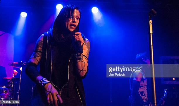 Orgy performs at Whisky a Go Go on January 29 2016 in West Hollywood California