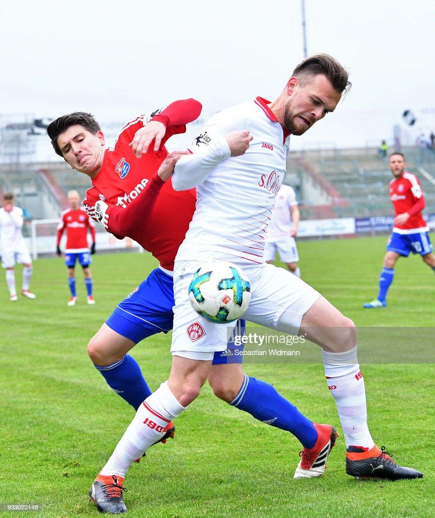 SpVgg Unterhaching v FC Wuerzburger Kickers - 3. Liga