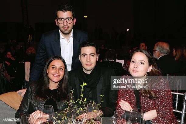 Oriane de Wendel Nicolas Meyers Bettencourt his brother JeanVictor Meyers Bettencourt and Laura Bussy attend the 'Nuit De La Chine' Opening Night at...