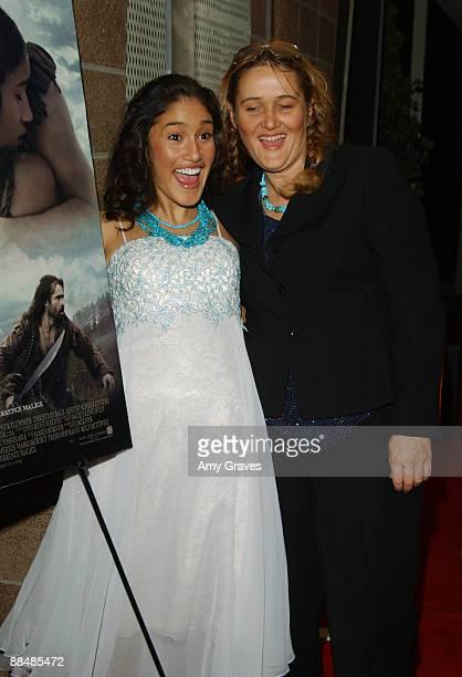 Q'Orianka Kilcher and mother Saskia