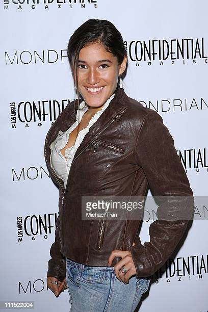 Q'orianka Kilcher arrives to LA Confidential's Annual Golden Globe Party held at The Mondrian Hotel on January 10 2009 in West Hollywood California