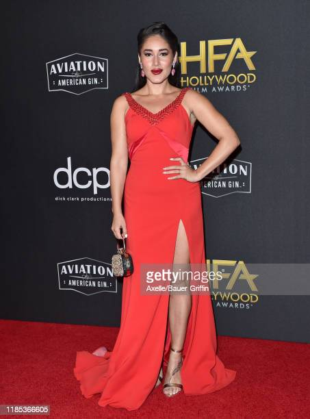 Q'orianka Kilcher attends the 23rd Annual Hollywood Film Awards at The Beverly Hilton Hotel on November 03 2019 in Beverly Hills California