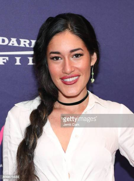 Q'orianka Kilcher attends the Premiere Of Dark Sky Films' MFA at The London West Hollywood on October 2 2017 in West Hollywood California