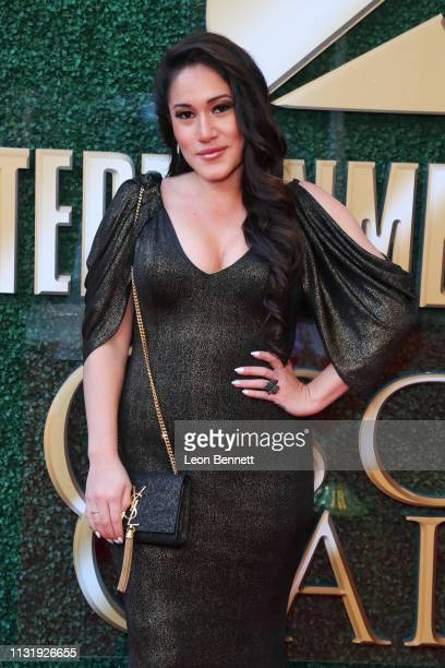 Q'orianka Kilcher attendsan Oscar viewing and after party hosted by Byron Allen at the Beverly Wilshire Four Seasons Hotel on February 24 2019 in...