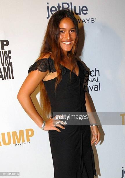 Q'Orianka Kilcher during 12th Annual Palm Beach International Film Festival at Artress Q'Orianka Kilcher in Palm Beach Florida United States
