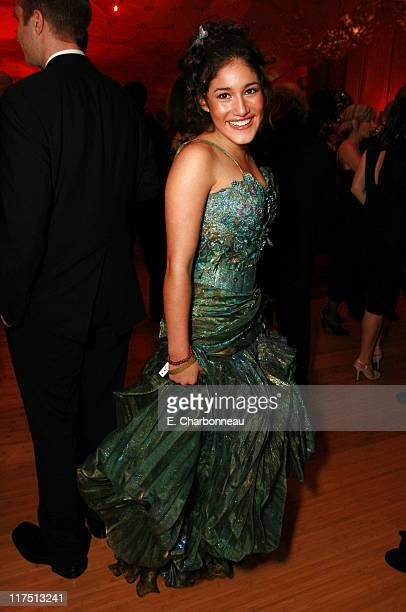 Q'Orianka Kilcher during 2006 Vanity Fair Oscar Party Hosted by Graydon Carter at Morton's in Beverly Hills California United States