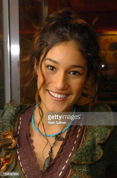 """Orianka Kilcher during Backstage West """"The New World"""" Screening and Q&A at Linwood Dunn Theater in Hollywood, California, United States."""