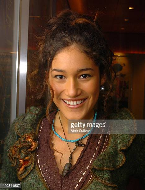 Q'orianka Kilcher during Backstage West 'The New World' Screening and QA at Linwood Dunn Theater in Hollywood California United States