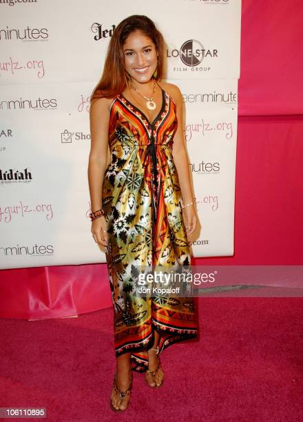 Q'Orianka Kilcher during Joanna Schlip Launches JGirls Fund and Her Book 'Glamour Girlz' at The Gershwin in Hollywood California United States