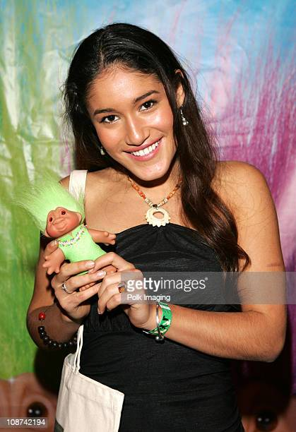 Q'Orianka Kilcher during The Original Lucky Trolls at Silver Spoons Hollywood Buffet Day 2 in Los Angeles California