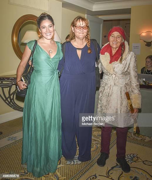 Q'Orianka Kilcher Saskia Kilcher and Wurtila KilcherHepp arrive at 2nd Annual Legacy Series Charity Gala at The Casa Del Mar Hotel on November 20...