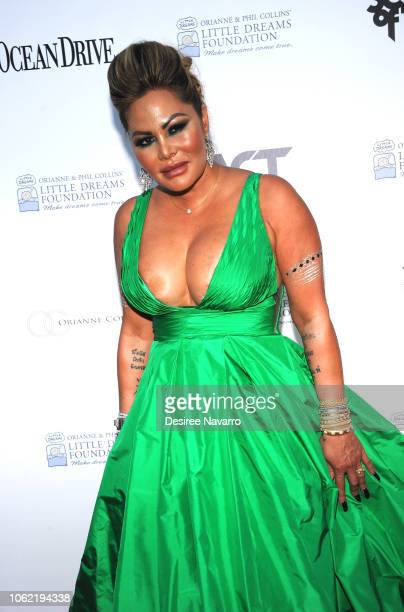 Orianne Cevey attends the 4th Annual Dreaming on the Beach Gala at Fillmore Miami Beach on November 15 2018 in Miami Beach Florida