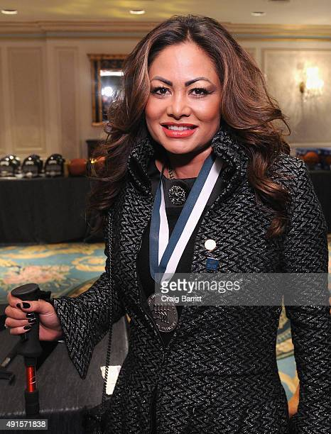 Orianne Collins attends the 30th Annual Great Sports Legends Dinner to benefit The Buoniconti Fund to Cure Paralysis at The Waldorf Astoria on...