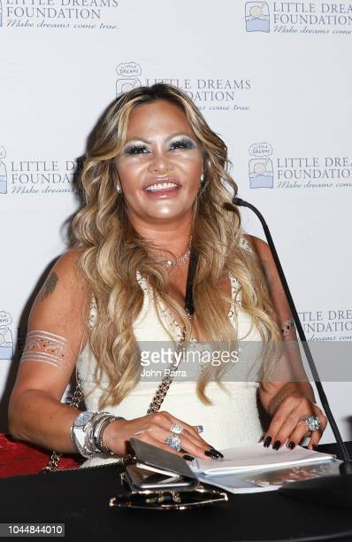 Orianne Collins is seen at Little Dreams Foundation's Little Dreamers 2018 at The Lounge at The Setai on October 2 2018 in Miami Beach Florida