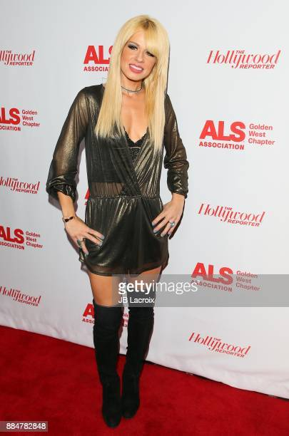 Orianthi Panagaris attends the ALS Golden West Chapter Hosts Champions for Care and a cure on December 02 2017 in Los Angeles California