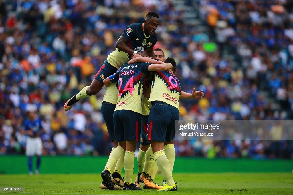 Cruz Azul v America - Torneo Apertura 2017 Liga MX