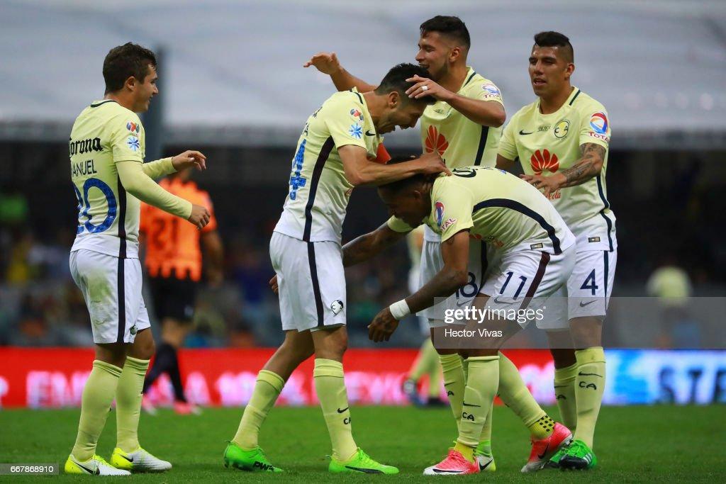 America v Necaxa - Torneo Clausura 2017 Liga MX