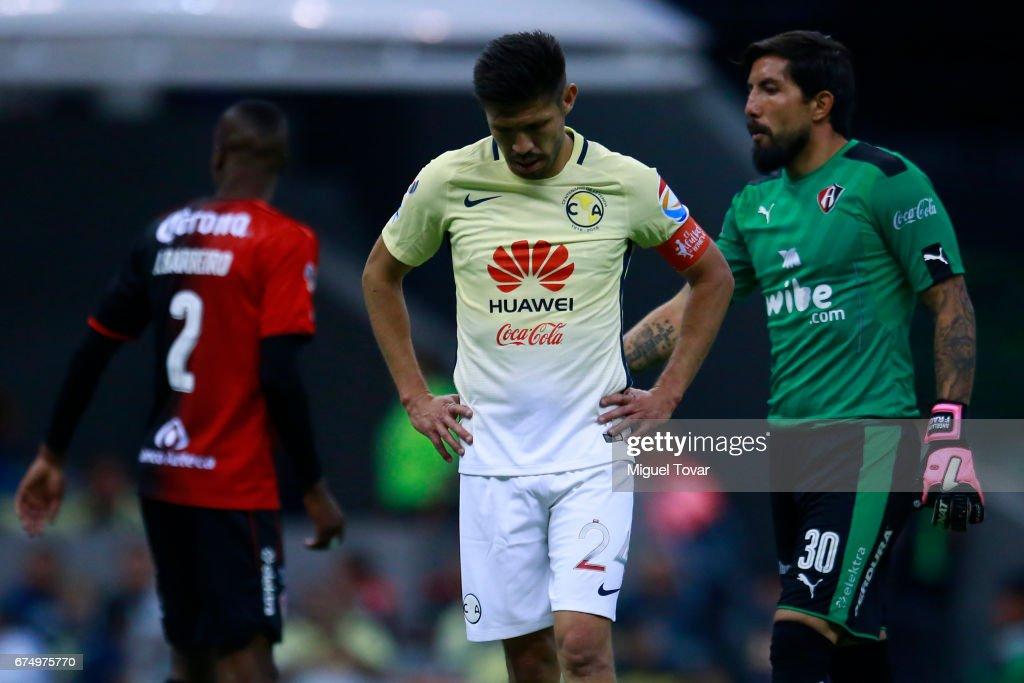 America v Atlas - Torneo Clausura 2017 Liga MX : ニュース写真