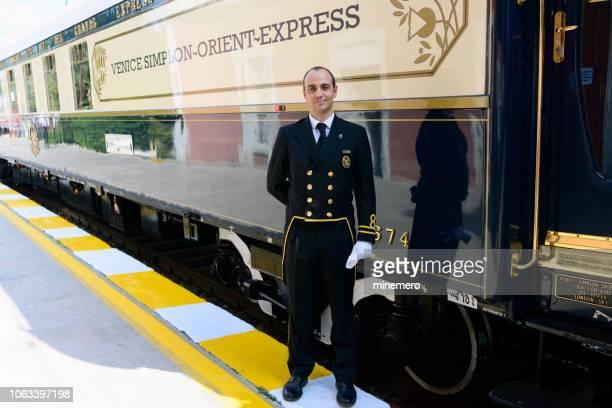 orient express train in istanbul - orient express foto e immagini stock