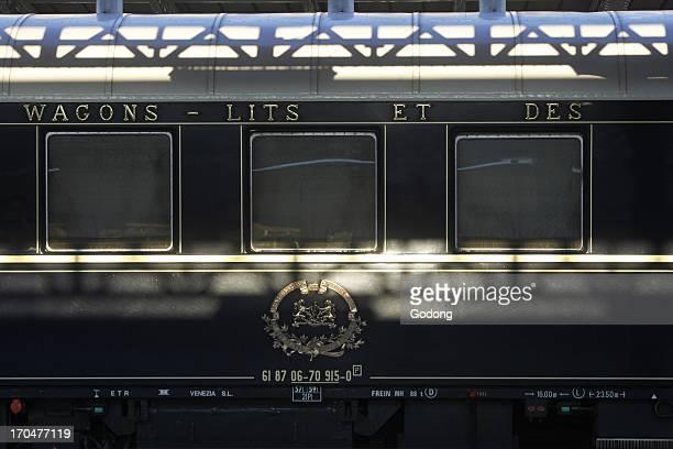 Orient Express train, Paris, France.
