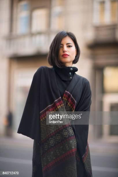 orient fashion - shawl stock photos and pictures