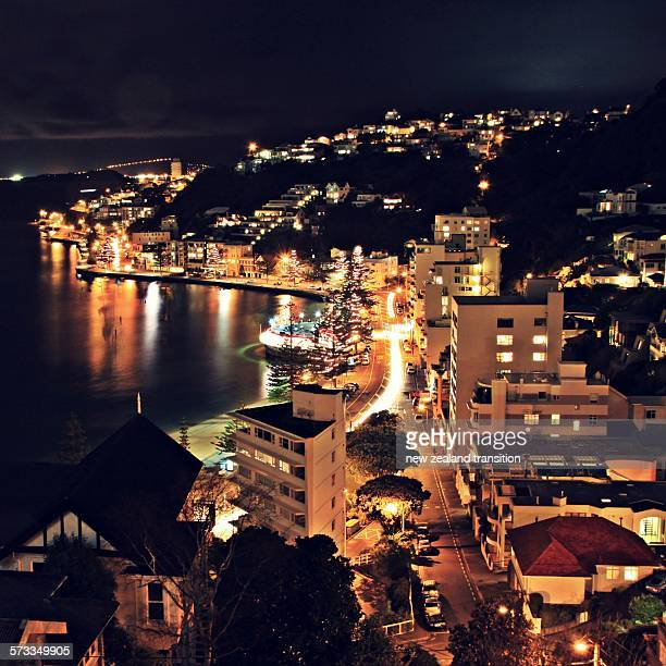 Oriental bay at night