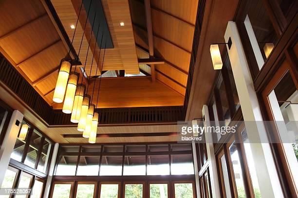 Oriental Modern Style Building Ceiling
