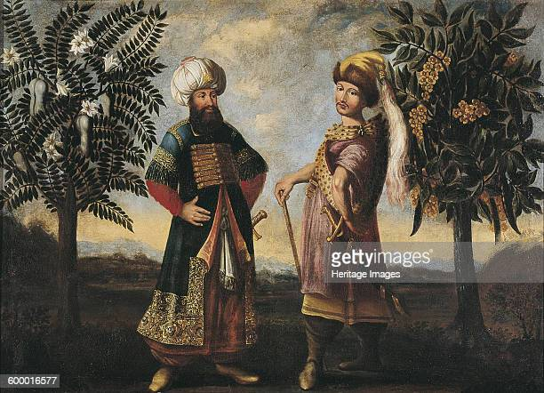 Orientals, ca 1681-1682. Found in the collection of Ptuj Ormo? Regional Museum. Artist : Anonymous.