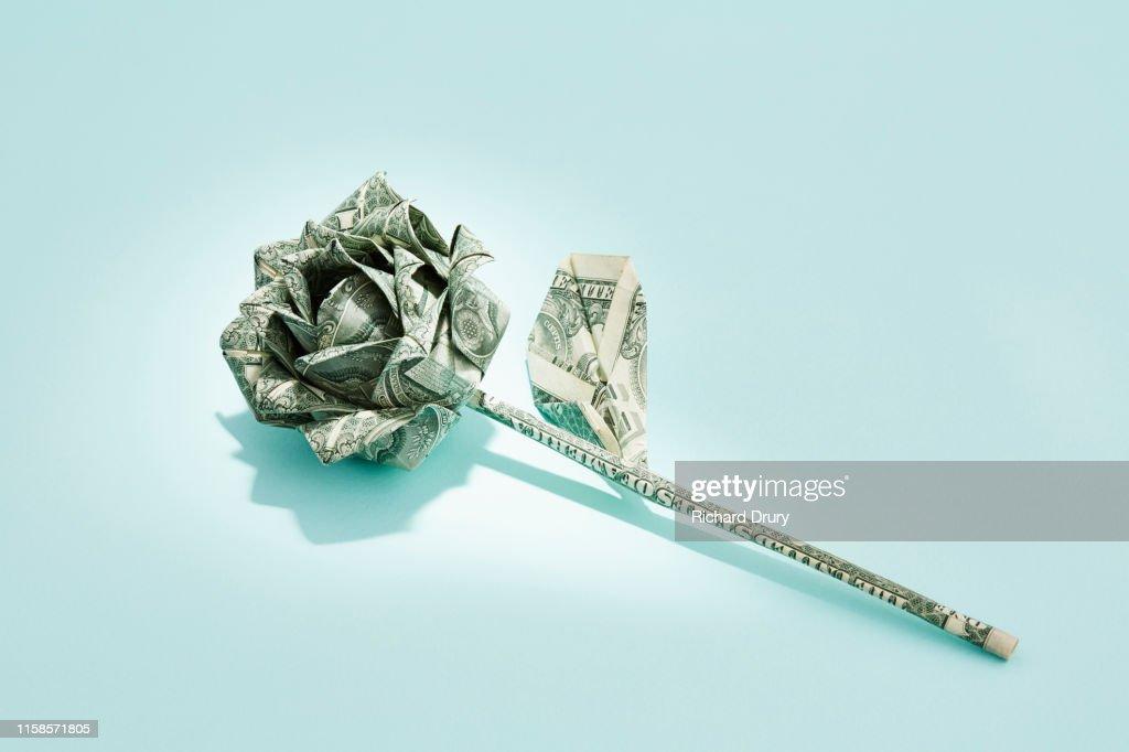LARGE DIAMOND RING Money Origami Art Dollar Bill Cash Sculptors ... | 682x1024