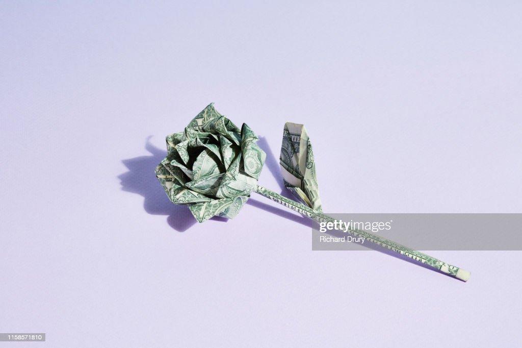 ORIGAMI DOLLAR DIAMOND RING TUTORIAL 折り紙 ダイヤの指輪 Mother's ... | 682x1024
