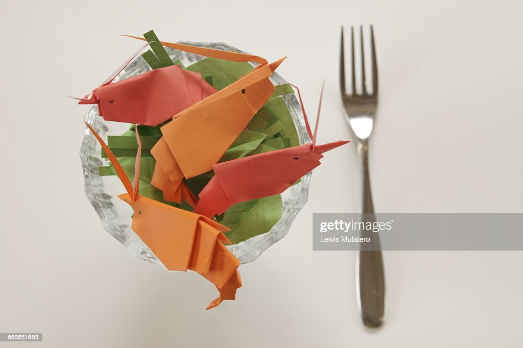 Origami Food Stock Photo Getty Images