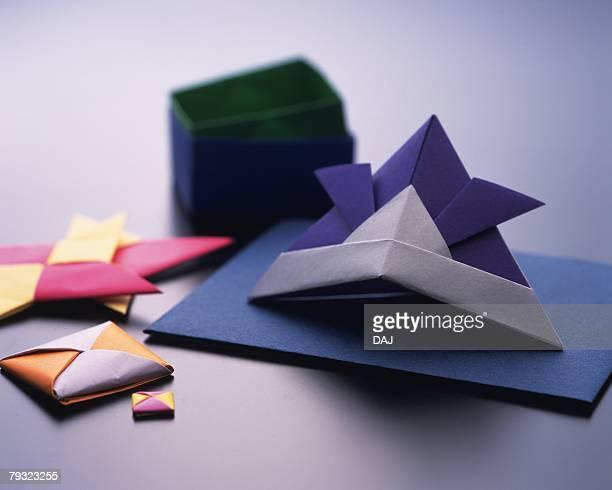 Origami Helmet?Kabuto) , Childrens Day, High Angle View