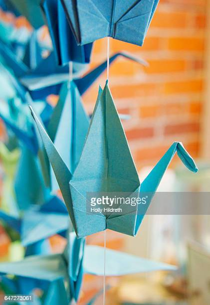 Folding Origami Stock Photos And Pictures Getty Images