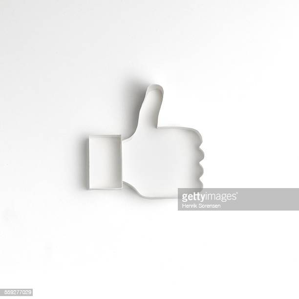 origami - like button stock photos and pictures