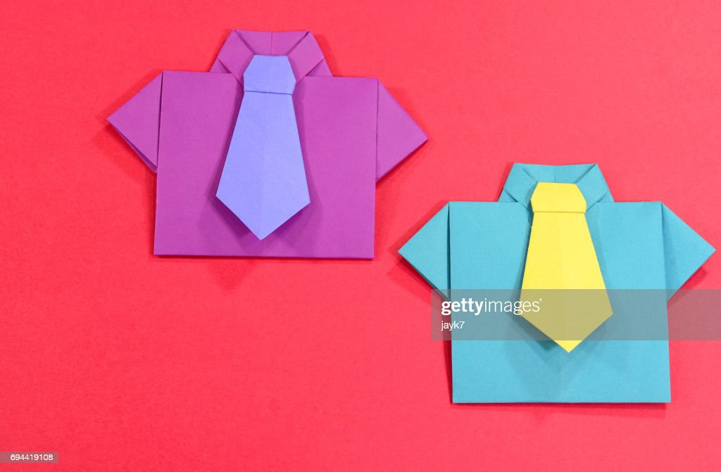 How to Make an Origami Shirt Step by Step Instructions | Free ... | 671x1024