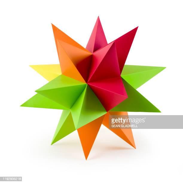 origami star - 尖っている ストックフォトと画像