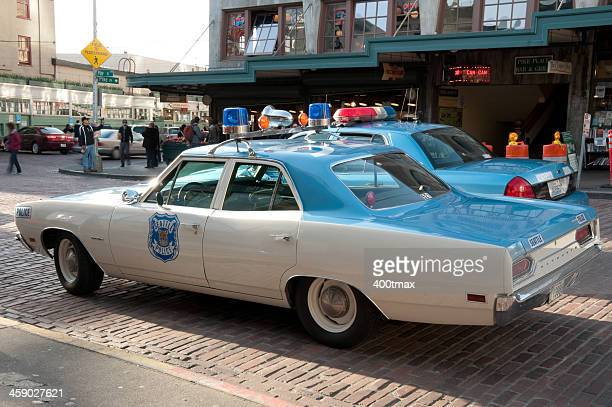 Original 1970's Plymouth Satellite Police car