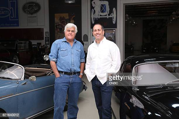 S GARAGE 'Original and Unrestored' Episode 208 Pictured Jay Leno Jerry Seinfeld