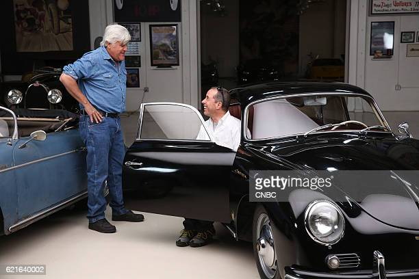 S GARAGE Original and Unrestored Episode 208 Pictured Jerry Seinfeld Jay Leno