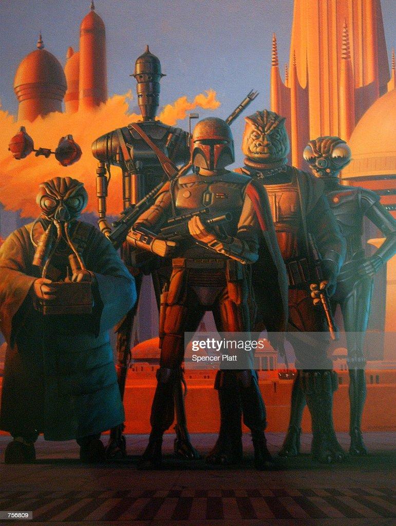 Star Wars Exhibition in New York : News Photo