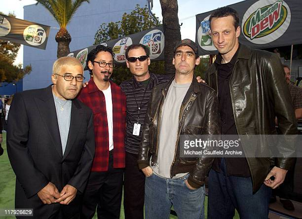 Original Bones Brigade during ESPN Action Sports and Music Awards - Arrivals at The Universal Amphitheater in Universal City, California, United...