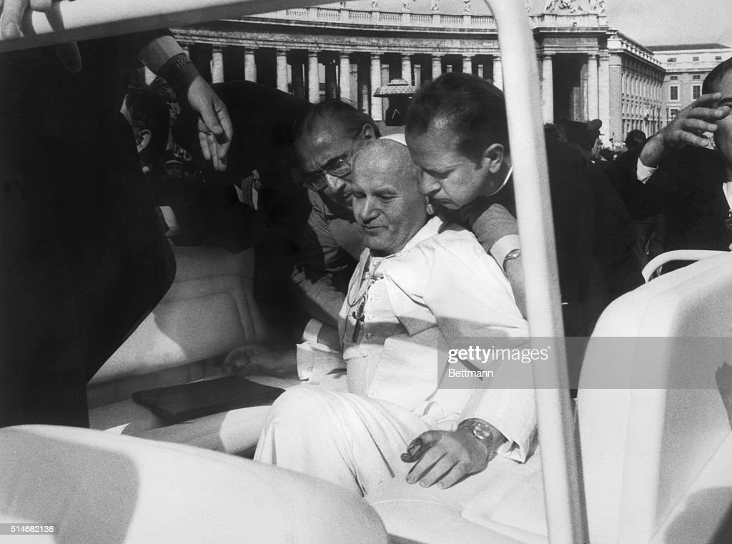 On This Day May 13 1981 - Pope John Paul II Shot