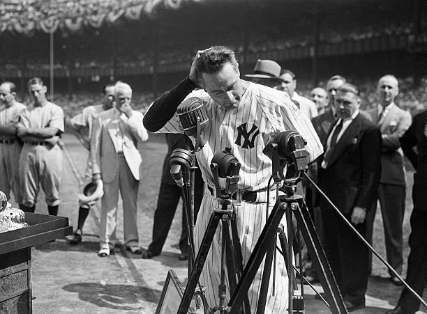 NY: 4th July 1939 - 80 Years Since Yankee Lou Gehrig's Farewell