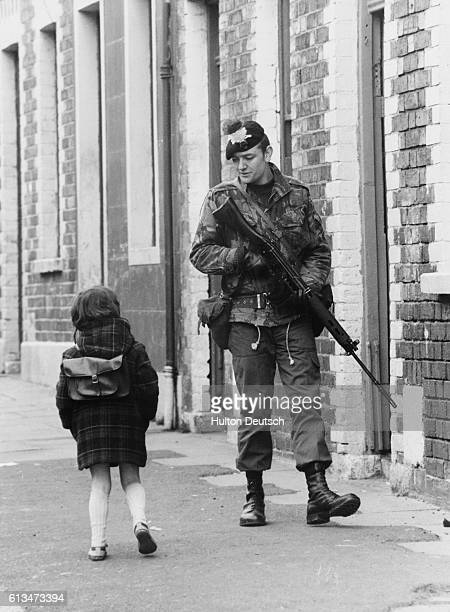 After the recent death of hunger striker Bobby Sands there have been renewed outbreaks of violence in Ulster But the anger shown in the streets of...