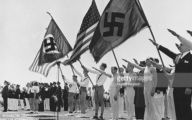Nazi Rally In USA 1930's