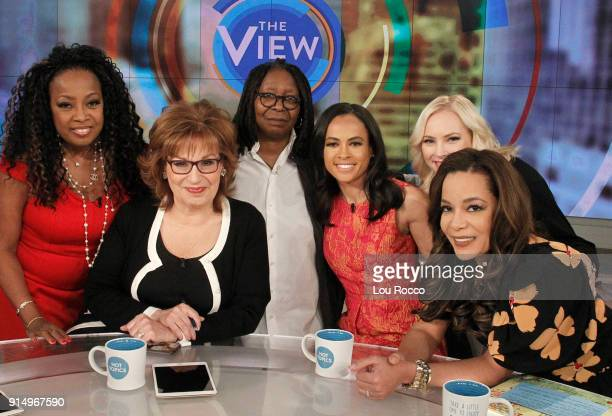 THE VIEW Original cohost of The View Star Jones guest cohosts Eric Garner's widow Esaw Snipes and Linsey Davis are guests today Tuesday February 6...