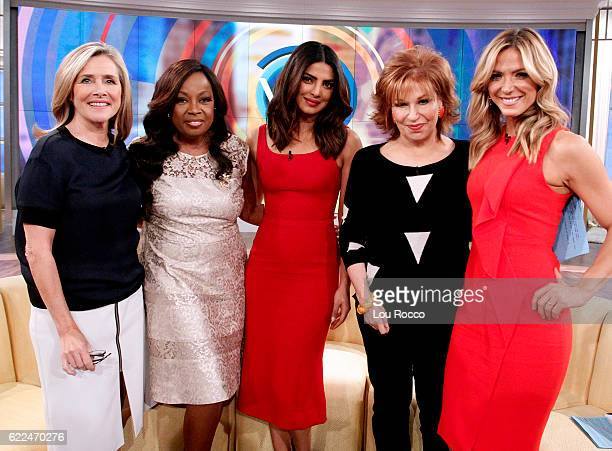 THE VIEW Original cohosts Meredith Vieira Star Jones and Debbie Matenopoulos joined Joy Behar at the Hot Topics Table today Friday November 11 2016...