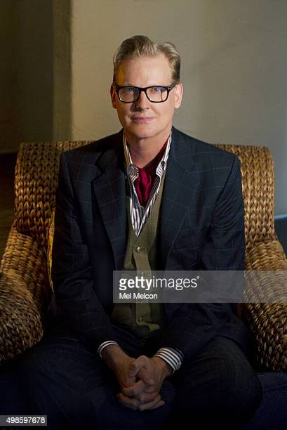 "Original ""Daily Show"" host and former late night show host Craig Kilborn is photographed for Los Angeles Times on November 9, 2015 in Los Angeles,..."