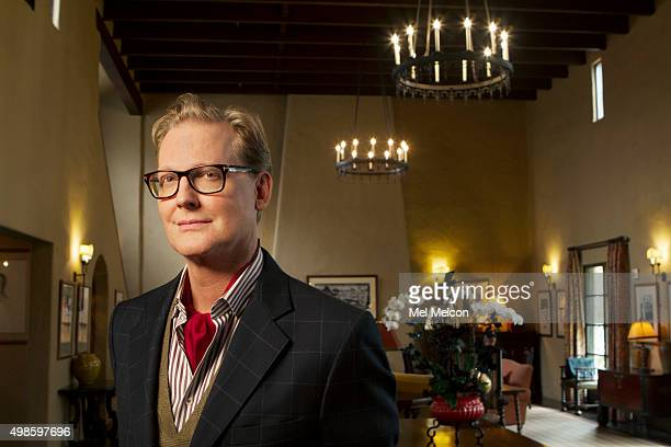 Original Daily Show host and former late night show host Craig Kilborn is photographed for Los Angeles Times on November 9 2015 in Los Angeles...